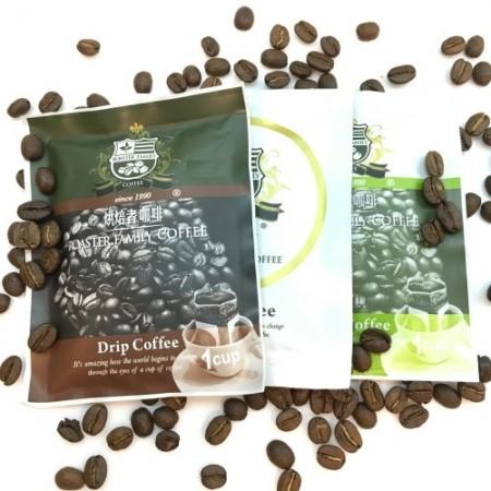 【烘焙者】蘇門答臘金牌曼特寧莊園掛耳式咖啡(10包/袋)